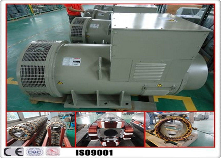 1800rpm Single Plase Brushless AC Generator 60hz Frequency 135kw