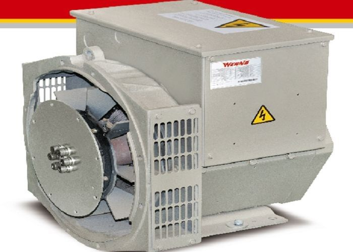 Electric 6.5KW / 8.1kva 3 Phase Alternators For Generator Set 1500rpm