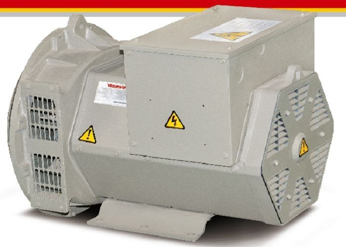 Electric AC Brushless Alternators Self-excited 22kw / 27.5kva Copy Stamford Type