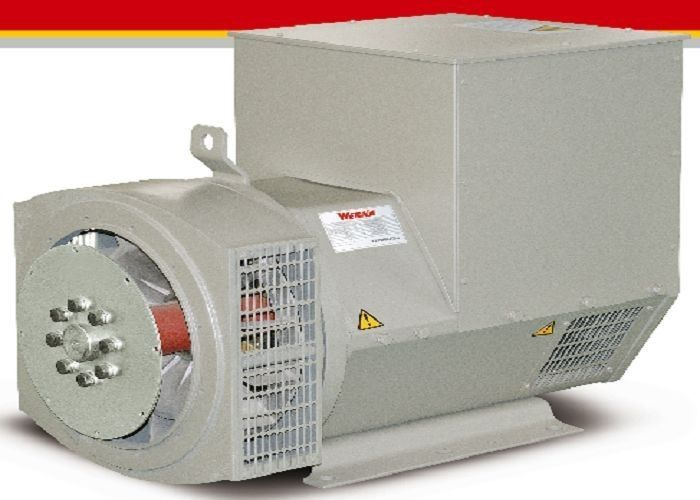 60 Hz 1500RPM Single Phase Generator AC Self Exciting Brushless 100kw 100kva